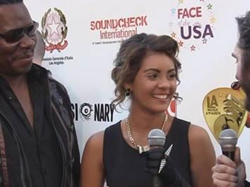 At LA Music Awards 2013